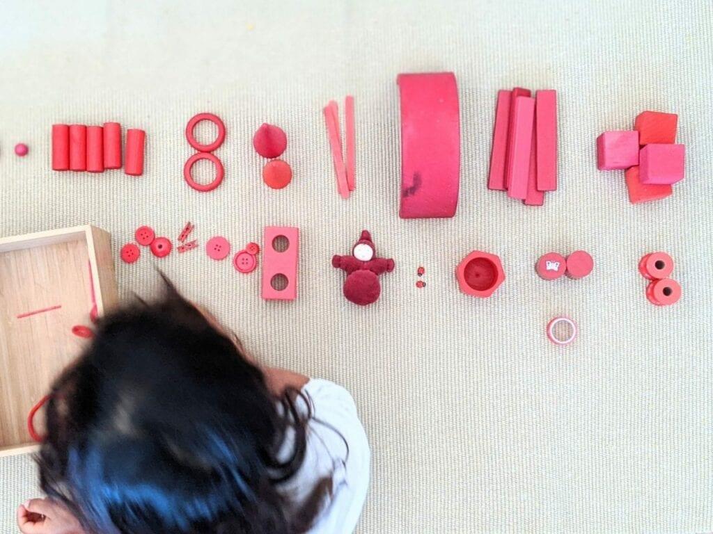 atividade de classificacao cor vermelha 02