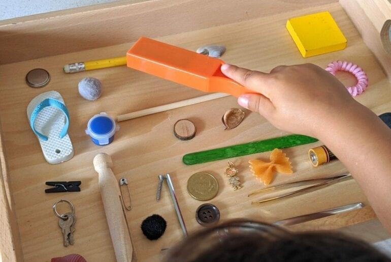 experiencia sobre magnetismo para criancas