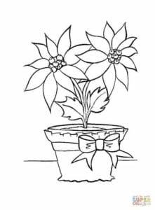 flor de pascoa para imprimir