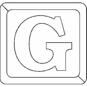 g letra do alfabeto