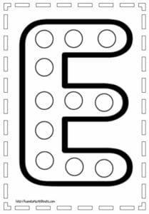 letra maiuscula para imprimir