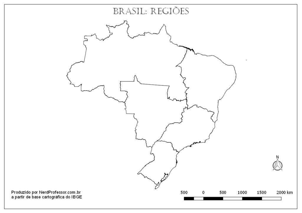 molde do mapa do brasil e suas regioes