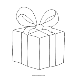 simbolos natalinos para colorir presentes