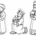 simbolos natalinos para colorir reis magos