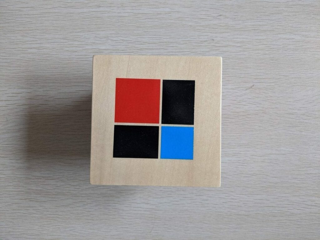 cubo de binomio montessori sensorial 01