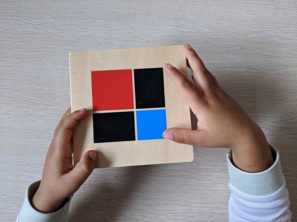 cubo de binomio montessori sensorial 06