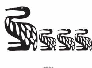 desenhos africanos para imprimir e pintar