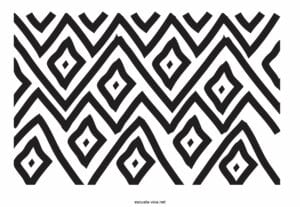desenhos afros para imprimir