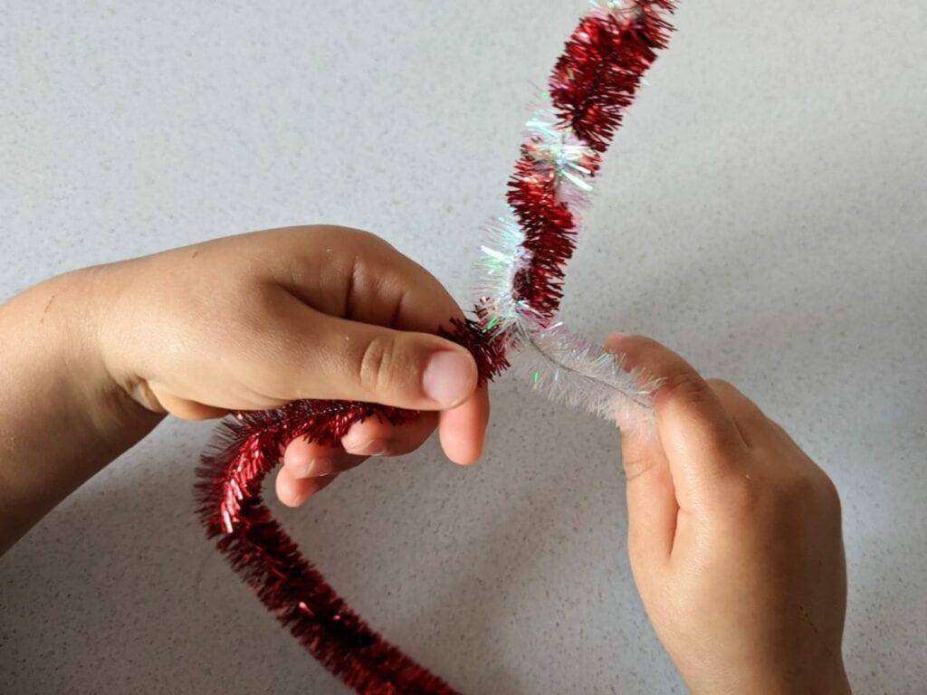enfeite de natal simples e fácil de fazer. 02