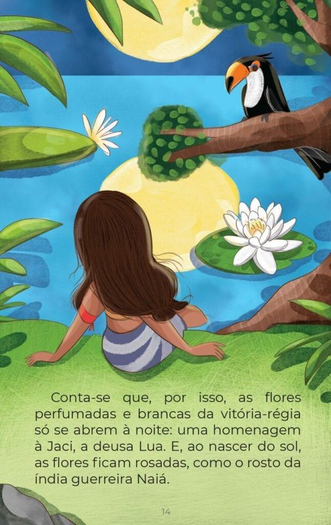 vitoria regia lenda conto brasileiro 15