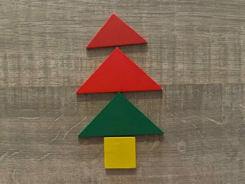 arvore de natal tangram