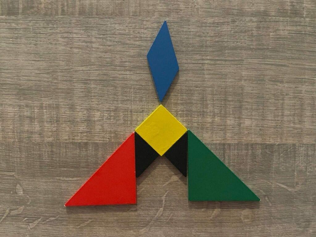 belem presepio tangram