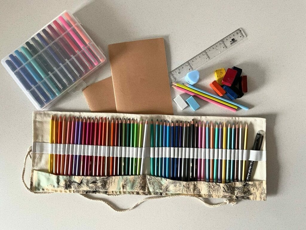 kit de artes para criancas criativas