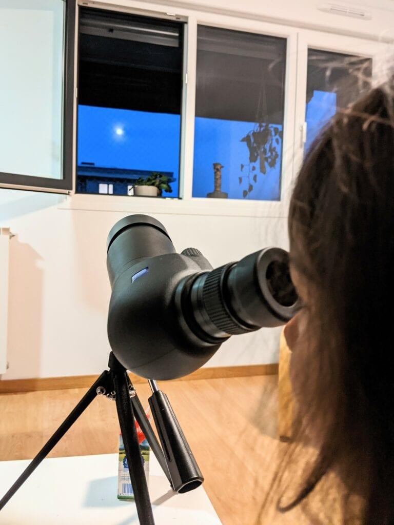 telescopio lua