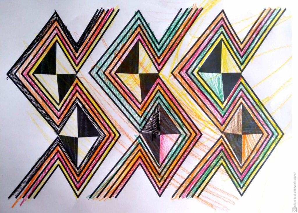 deenhos africanos para colorir e pintar