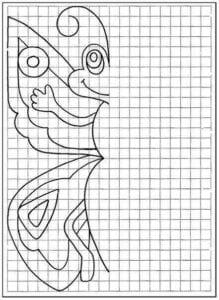 desenhos para completar e colorir