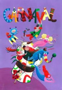 painel de carnaval educacao infantil