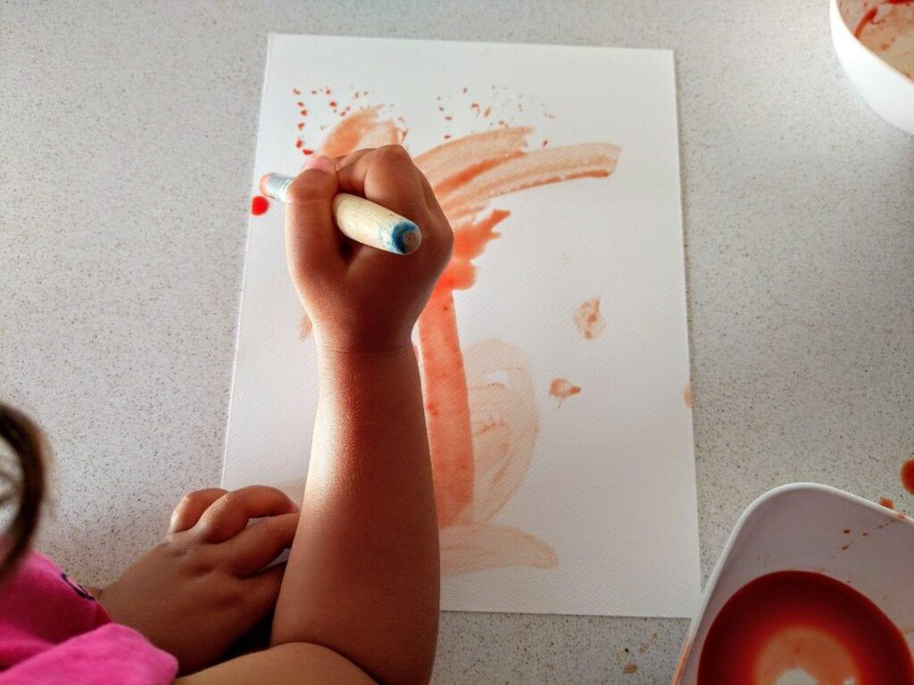 pintar com tinta de tomate 06