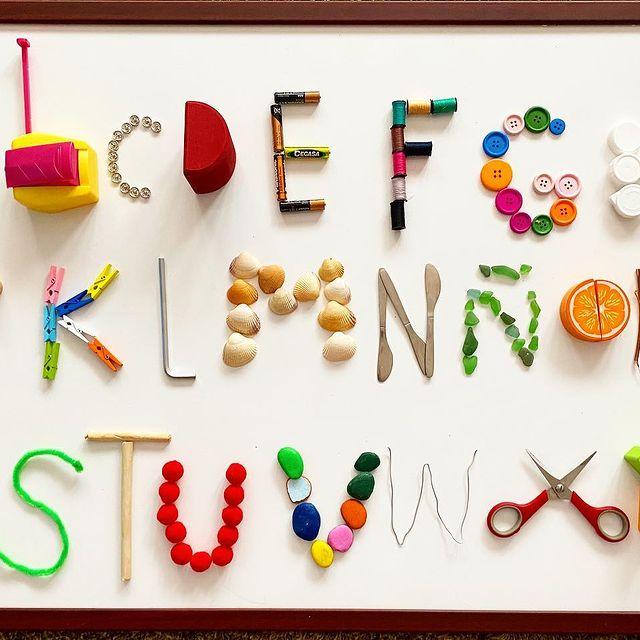abecedario brincadeira