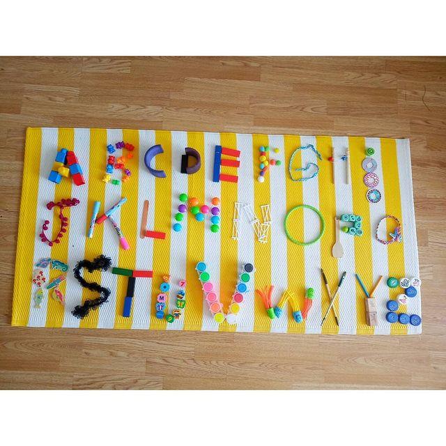 alfabeticacao infantil ensinar alfabeto brincando