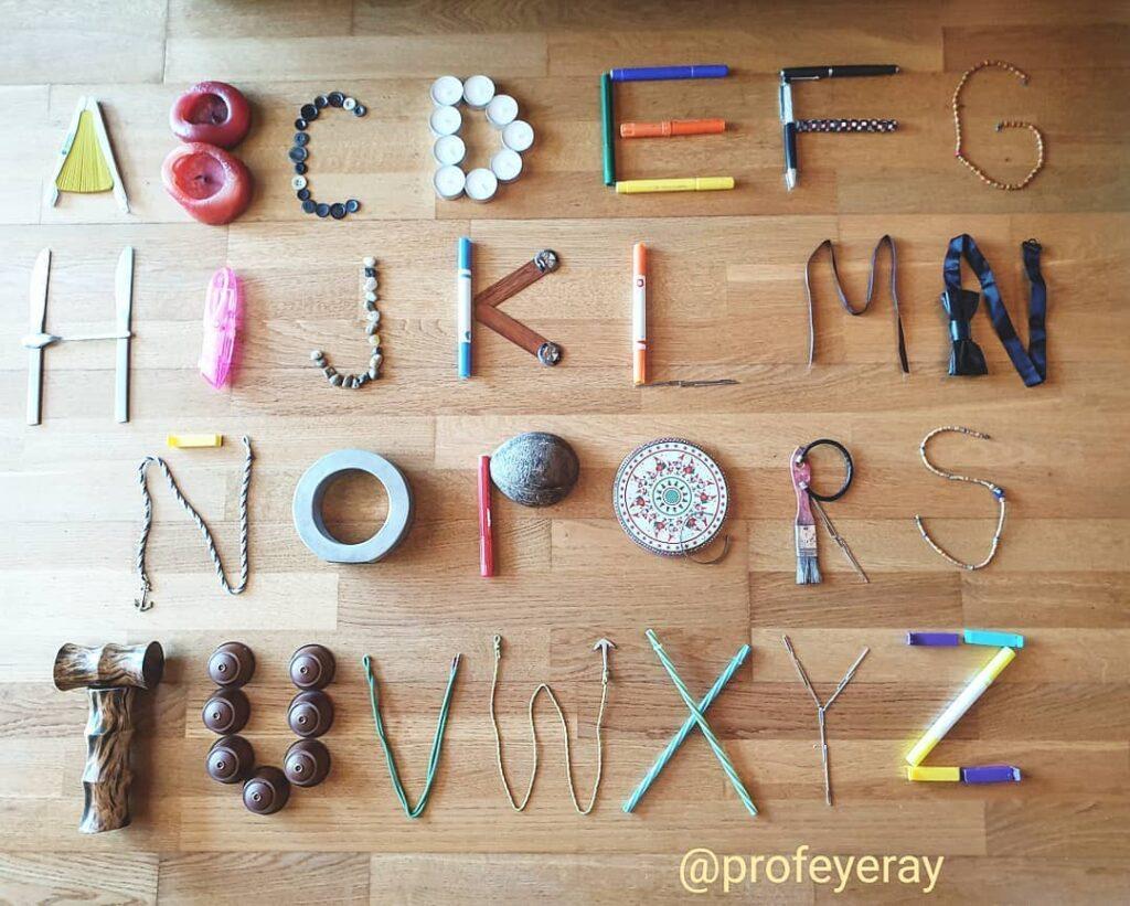 alfabeto completo para criancas