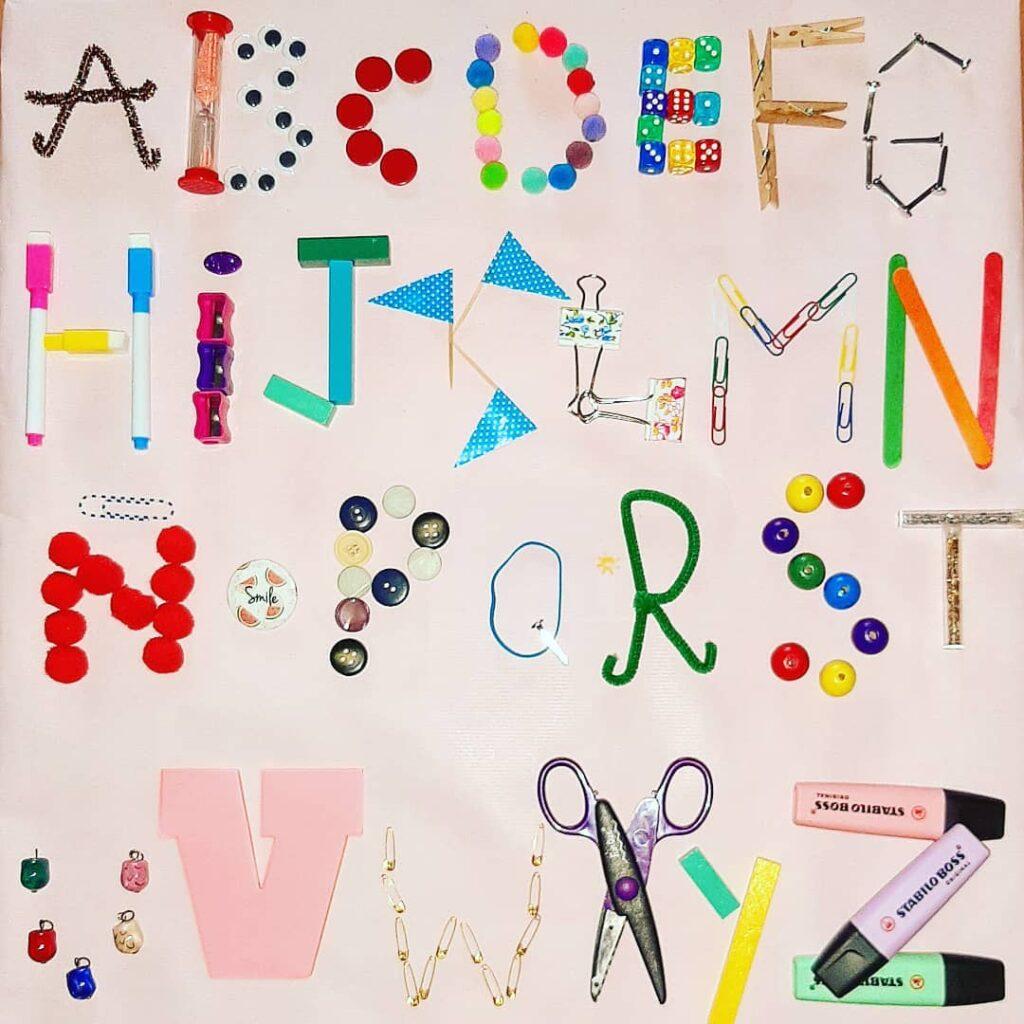 alfabeto criativo para alfabetizar