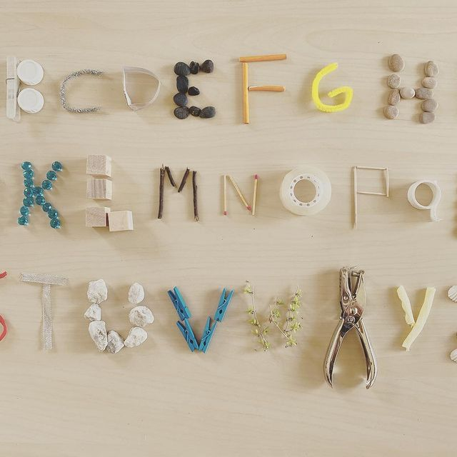 alfabeto divertido para criar e brincar
