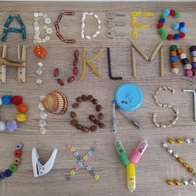 alfabeto para brincar