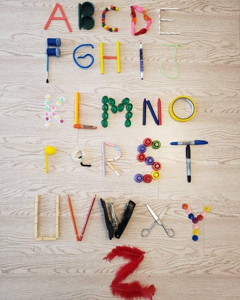 aprender o abecedario completo na educacao infantil
