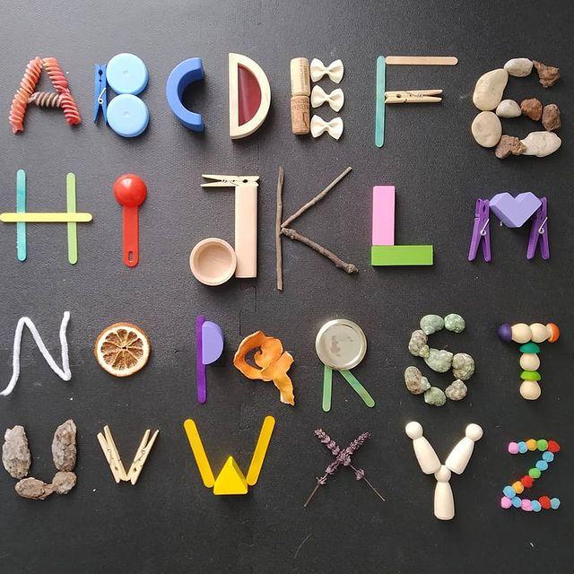 aprender o alfabeto brincando