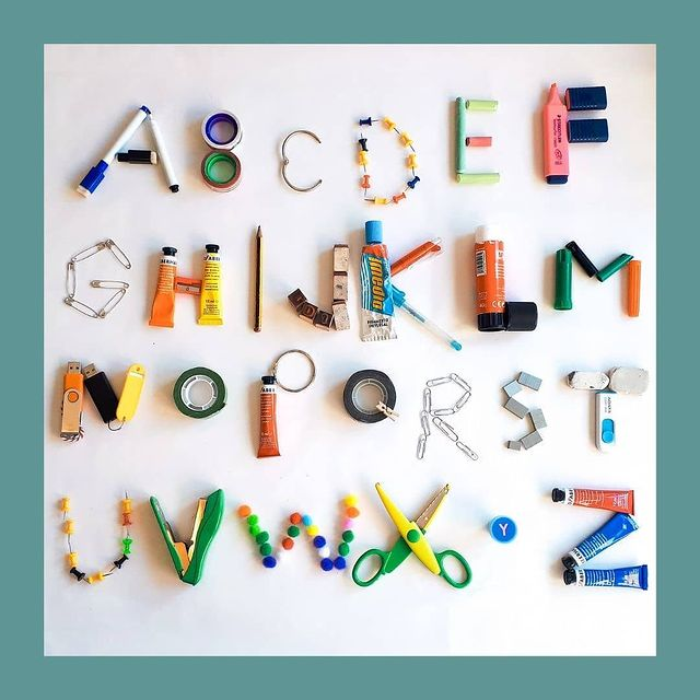 aprender o alfabeto com pecas soltas