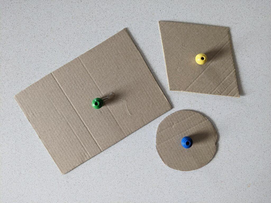 atividade com formas da bandeira do brasil