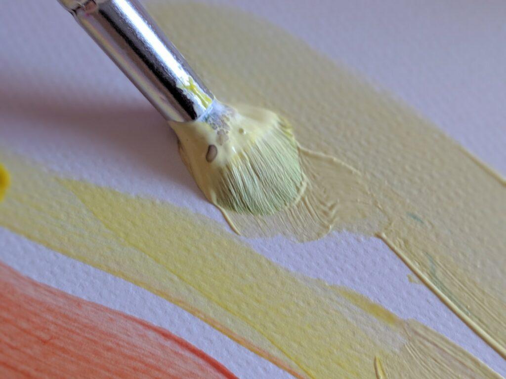 atividade com mistura de cores