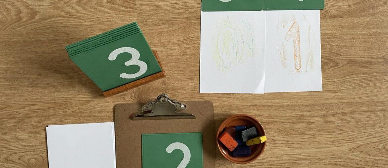 atividade de artes com numerais