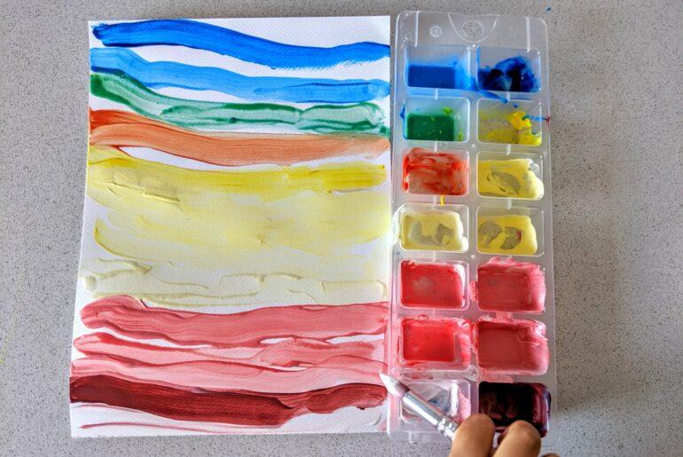 atividade mistura de cores