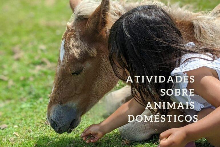 atividades sobre animais domesticos
