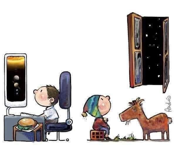 atraves de que janela seu filho conhece o mundo