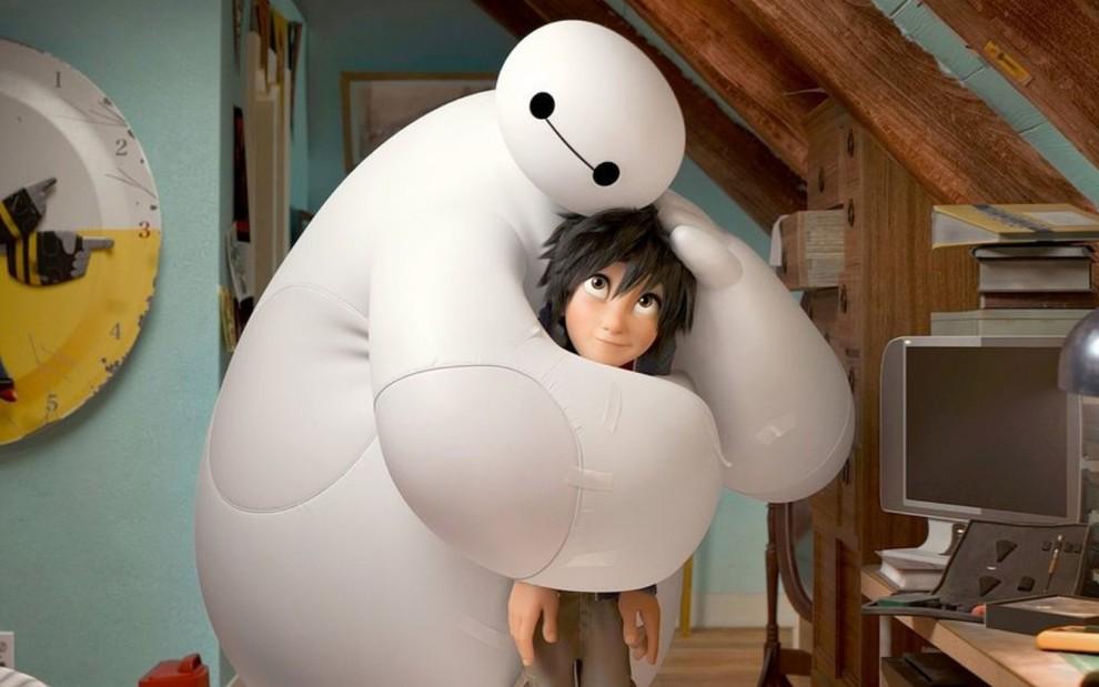 big hero 6 filme amizade infantil