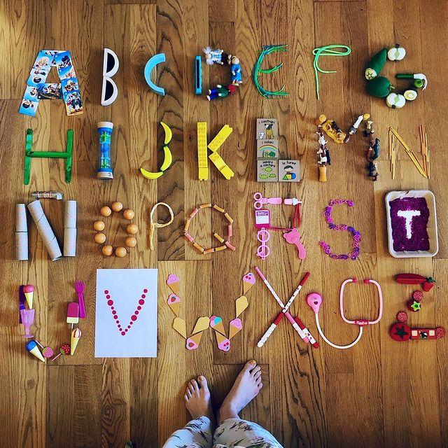 brincadeira abecedario