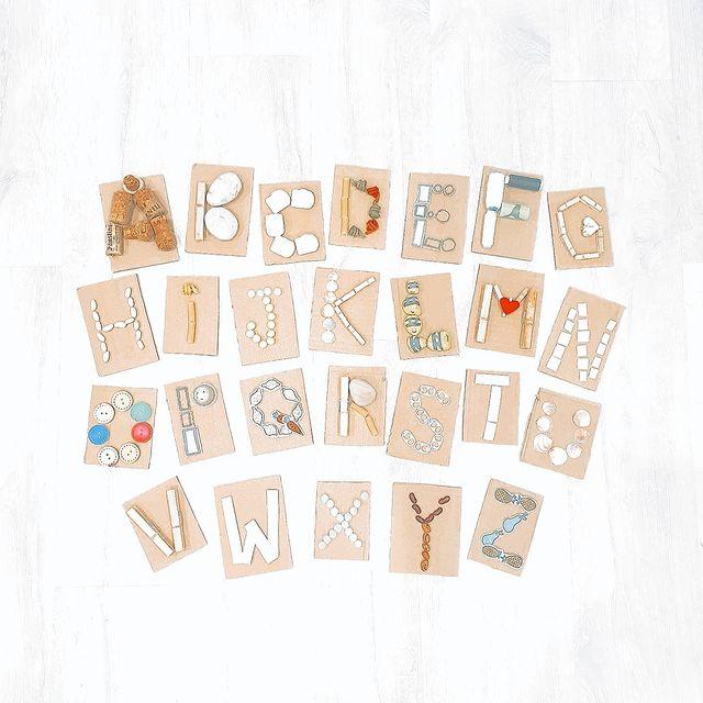 brincadeira com alfabeto
