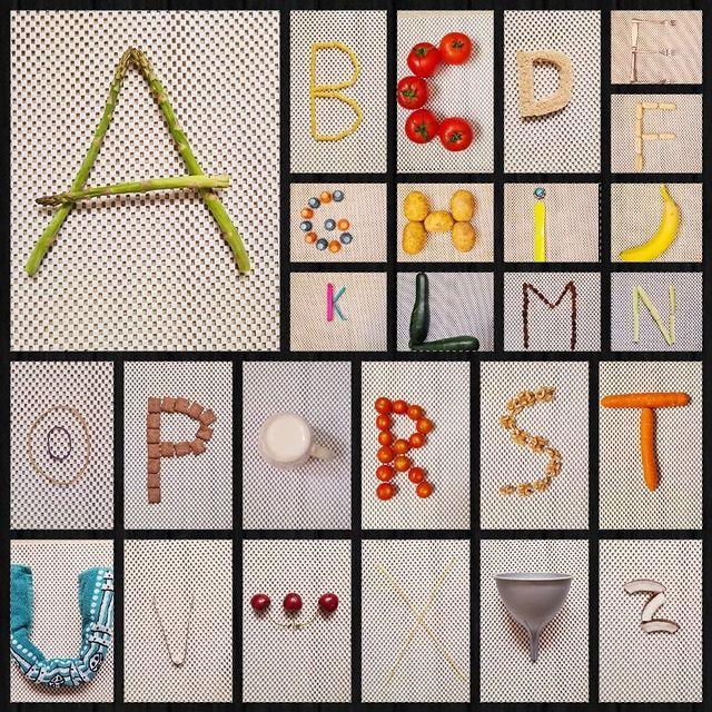 brincadeira com o abecedario