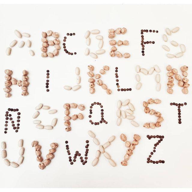 brincadeira para ensinar o alfabeto