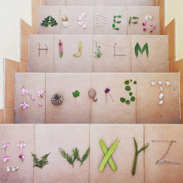 brincar com as letras do alfabeto