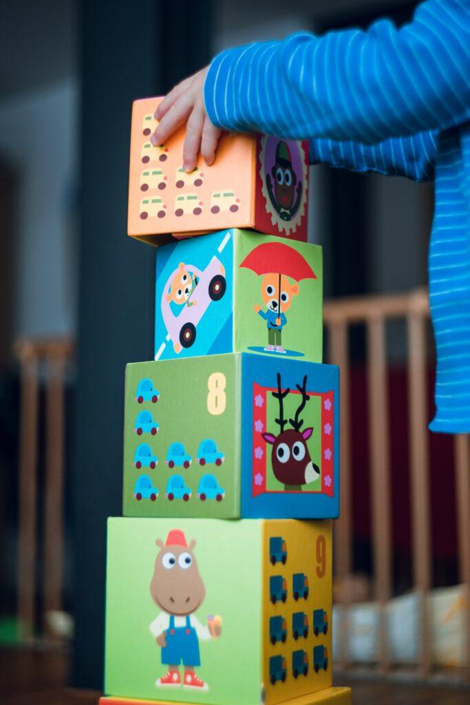 brinquedos de linguagem