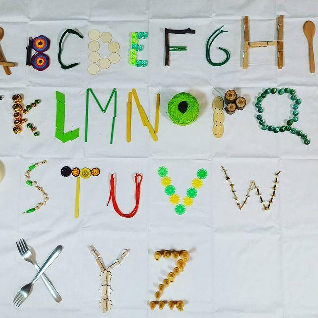 como ensinar o alfabeto