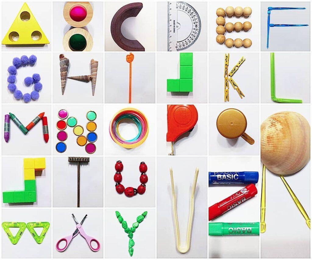 ensinar abecedario completo brincando