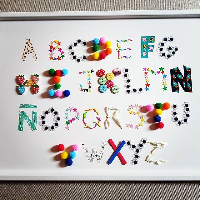 fazer o alfabeto completo de forma ludica