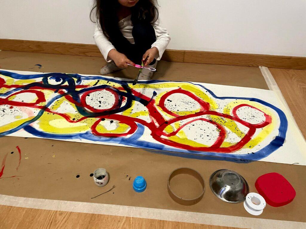 oficina de pintura infantil