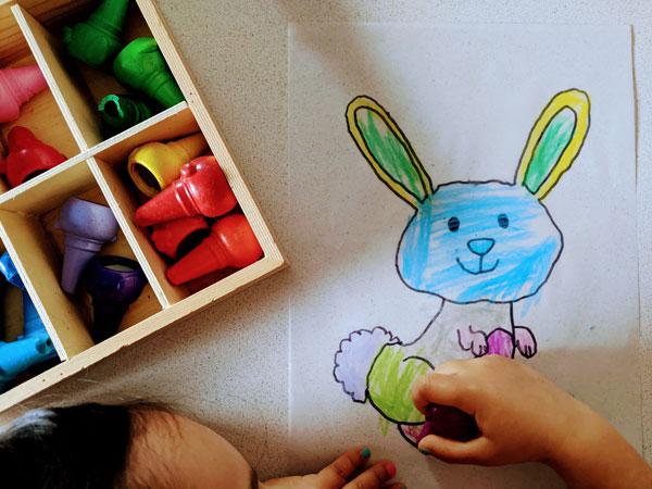 atividade da pascoa para colorir
