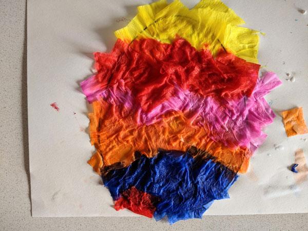 atividade de artes para pascoa com papel crepom 02